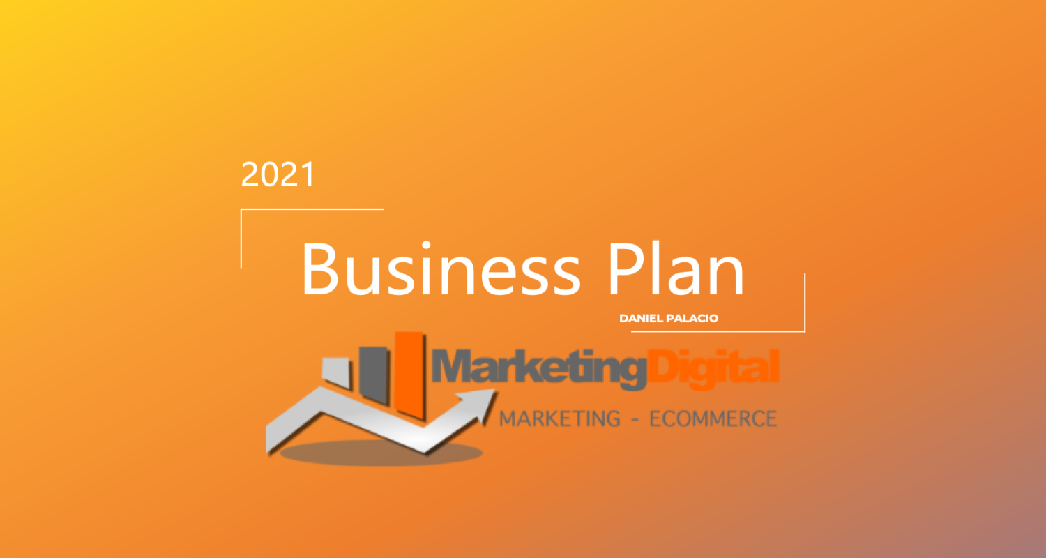 Plantilla Estrategia Negocio y Marketing Digital 2021