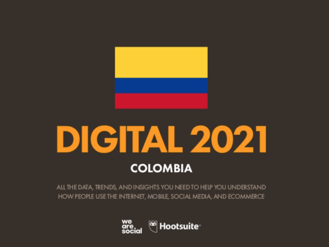 Cifras Estadísticas Marketing Digital Colombia 2021